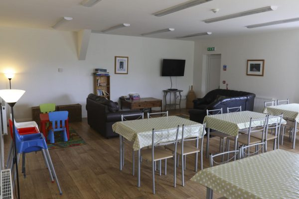 Caalm Camp Lounge and Dining Area