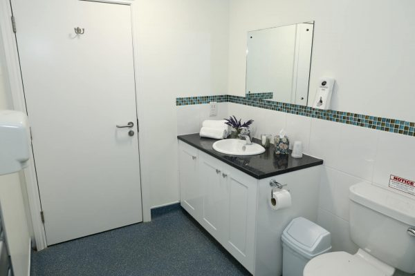 Clean, Fully Equipped Bathroom