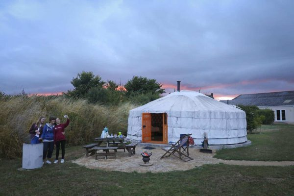 Group Glamping In Dorset