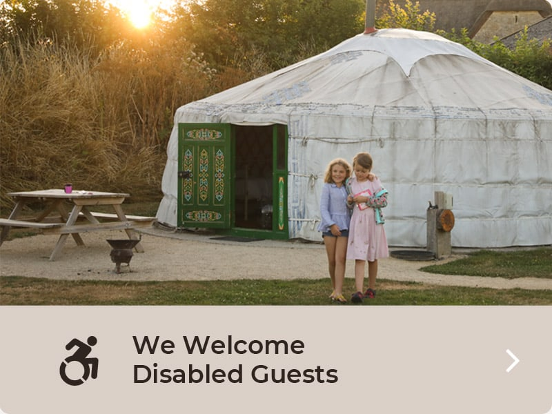 We Welcome Disabled Guests