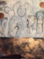 Golden Goddesses 60 x 60 (Pris: 4.500 kr.)