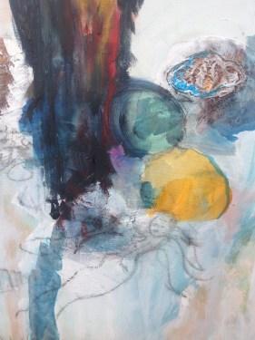 Dorthe Vedel Kunst Yellow Dot Dream