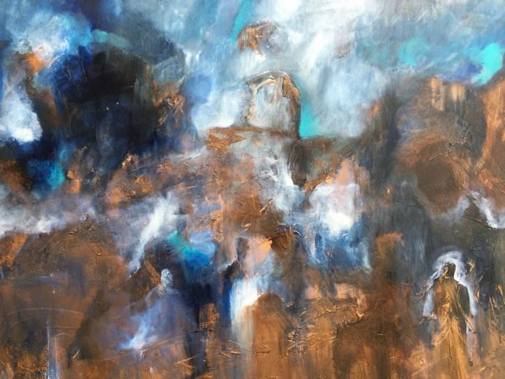 Blue Life 100 x 120 (Pris: 8.500) - Solgt