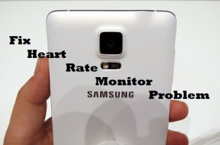 samsung galaxy note 4 heart rate monitor problem