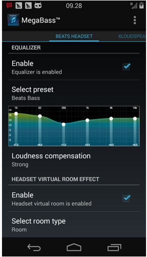 megabass, boost android sound