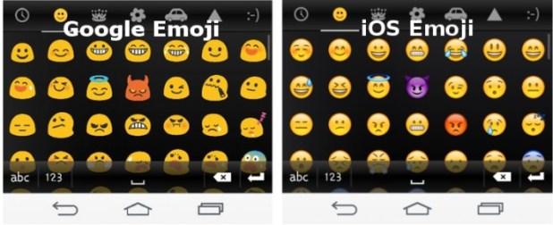 ios emoji google nexus 5