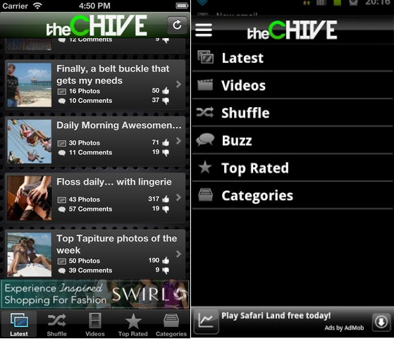 theChive Android app