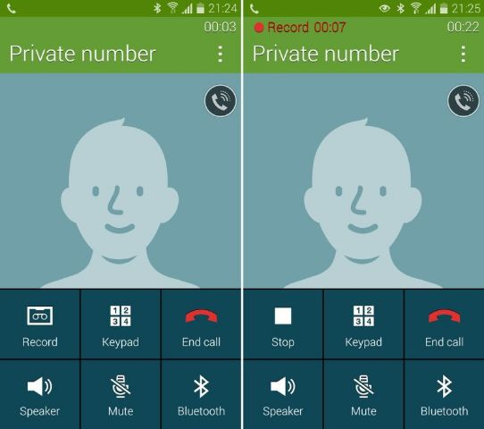 Galaxy S3 Call Recording