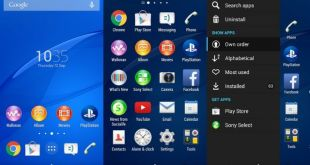 Xperia Z3 Home Launcher, System apps and Widgets