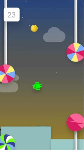 make Lollipop Easter egg easy to play
