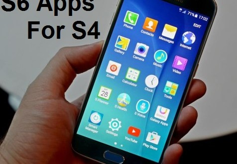 Galaxy S6 apps for Galaxy S4