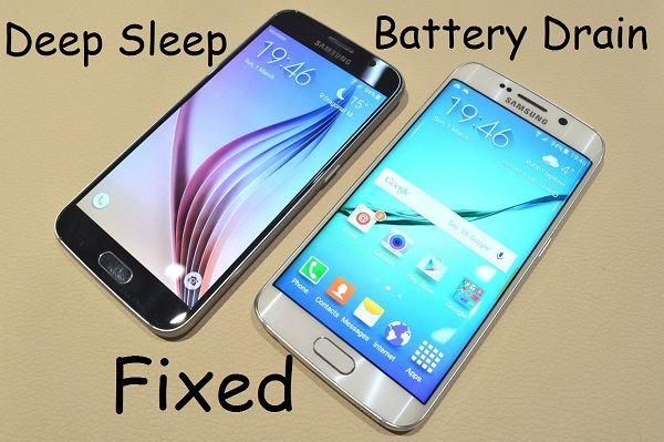 Fix Galaxy S6 and S6 Edge Deep Sleep and Battery Drain
