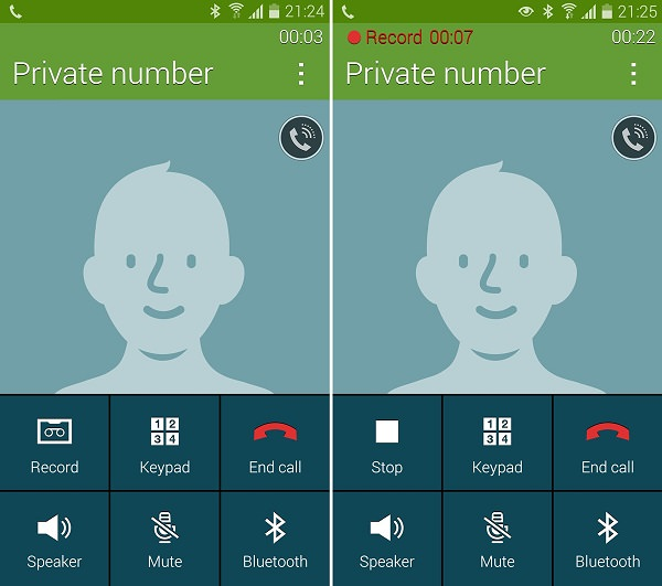 Call Recording Mod Galaxy S5
