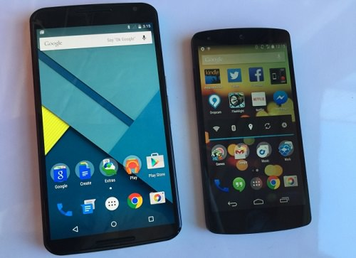 Nexus 6 and Nexus 5 system sounds