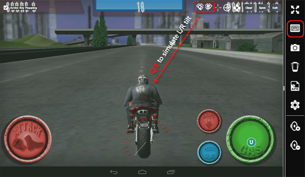 Memu Emulator Play Racing Game