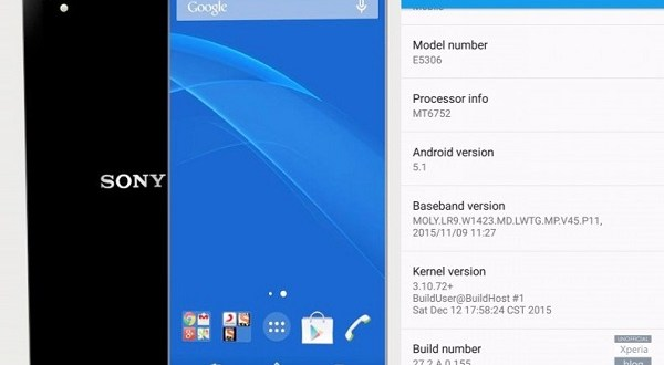 Sony Xperia C4 Android 5.1 Update