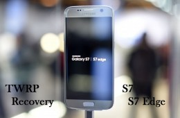 Galaxy S7 & S7 Edge TWRP Recovery