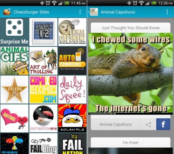 Cheezburger android app