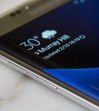 Galaxy S7 weather widget
