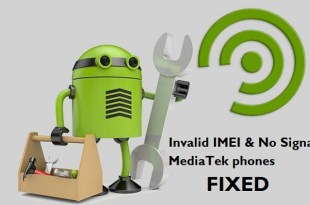 Invalid IMEI MediaTek phones