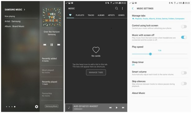 Download Galaxy S8 Music App [APK] - Dory Labs