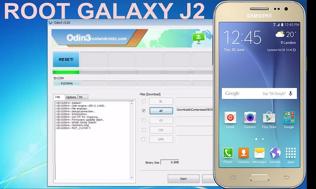 samsung j200g twrp zip file download