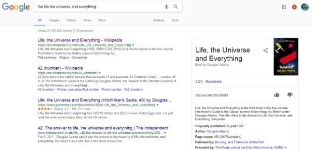 Number 42 Google