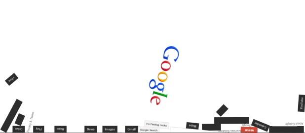 Google zero gravity trick
