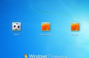 Windows 7 Admin profile