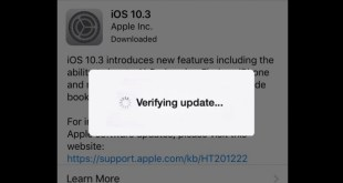 iOS stuck on verifying update