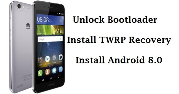 Huawei P8 Lite Unlock Bootloader, Install TWRP and Android