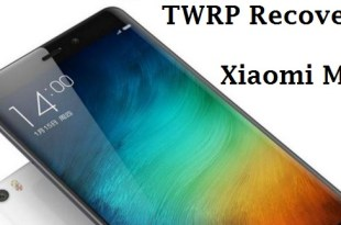 Xiaomi Mi 5 TWRP