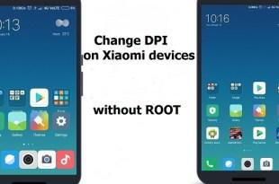 Change DPI Xiaomi