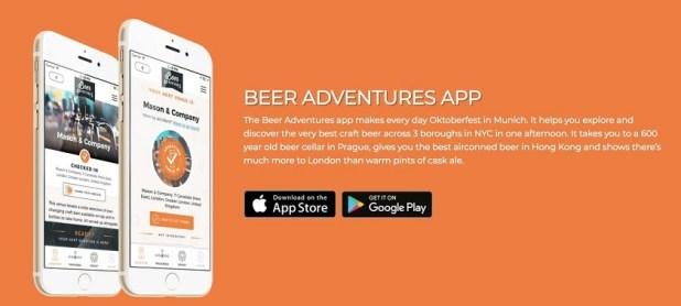 Beeradventures App
