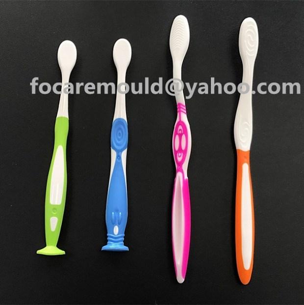 bi componente cepillos de dientes de molde