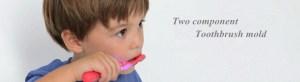 precio del molde de cepillo de dientes de 2 componentes de China