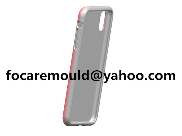 Caja de telefono de doble color para iPhone