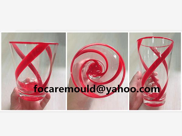 diseno de molde de color de vaso de beber 2