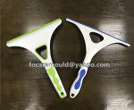 diseno de molde de limpiaparabrisas de dos colores