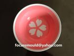 diseno de molde de plato de fruta de dos colores