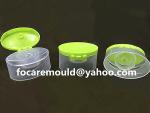 flip top champu cap molde 2k