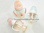 manija del alimentador de bebe de dos colores