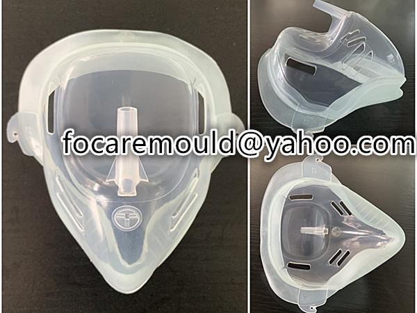 mascara de anestesia de materiales multiples