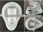 mascarilla pediatrica de molde rotativo