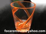 molde de copa de cerveza bicolor