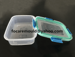 molde de inyeccion bi de caja de alimentos