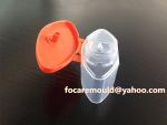 molde de inyeccion bicolor tapa flip