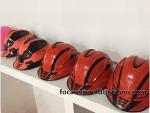 diseno de moldes de casco de seguridad de bicolors