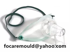 Molde de mascara de traqueotomia 2k tpe