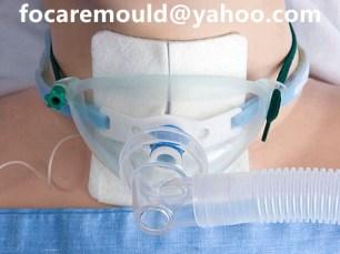 molde de mascara de traqueotomia bi-shot